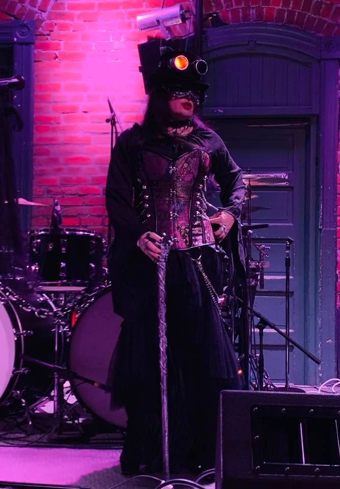 Halloween 2019 full stage costume